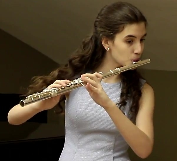 Мария Корякина флейта